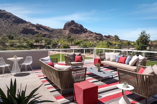 Mountain Shadows Resort - Camelback Presidential Suite Terrace