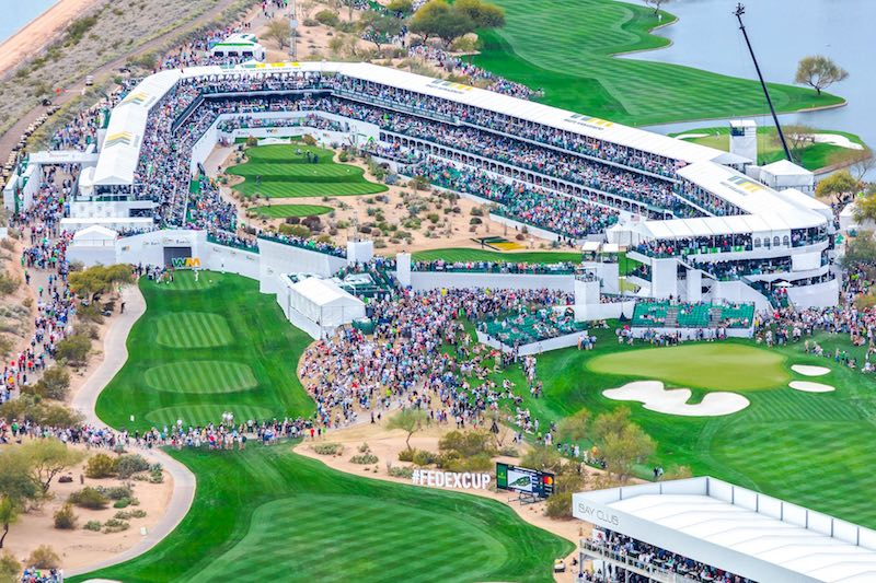 TPC Scottsdale - Saturday at the Phoenix Open