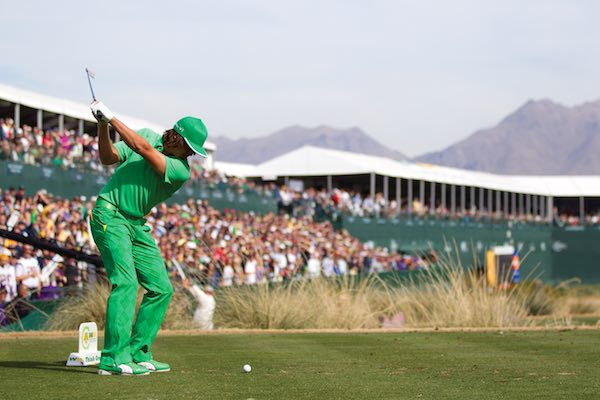 Rickie Fowler during the Waste Management Phoenix Open