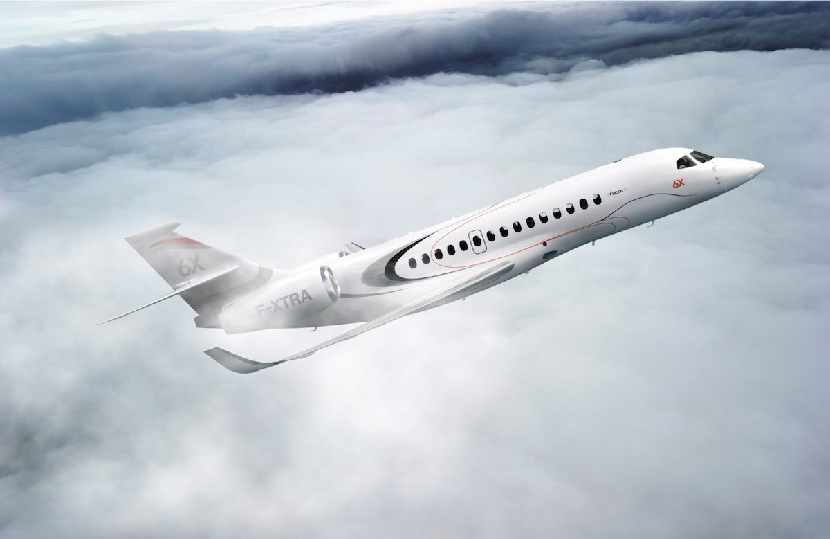 Soar Through the Skies: Dassault Aviation's $47M Falcon 6X Private Jet