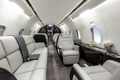 Bombardier Challenger 350 Cabin