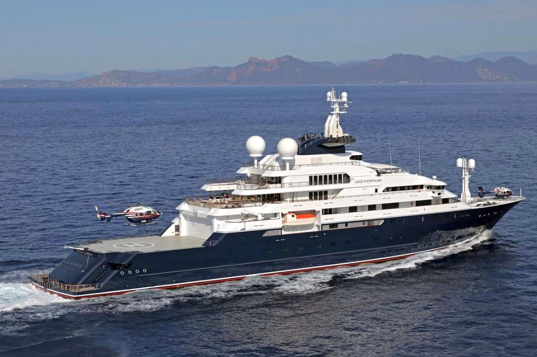 Legend Status: Paul Allen's Octopus Superyacht is for Sale for $325M
