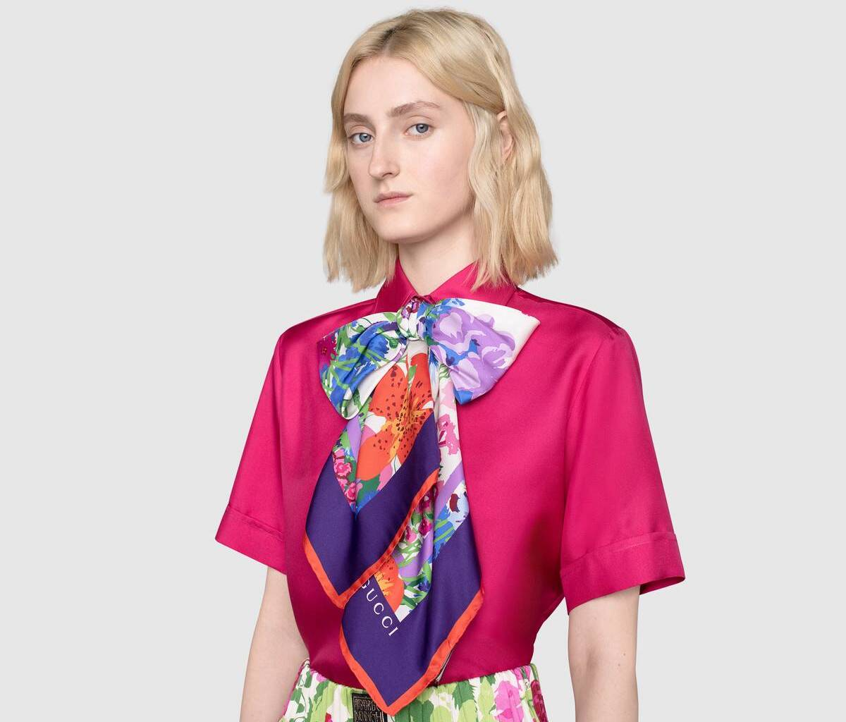 Le Scarf: 4 Fashionable Silk Must-Haves for Spring