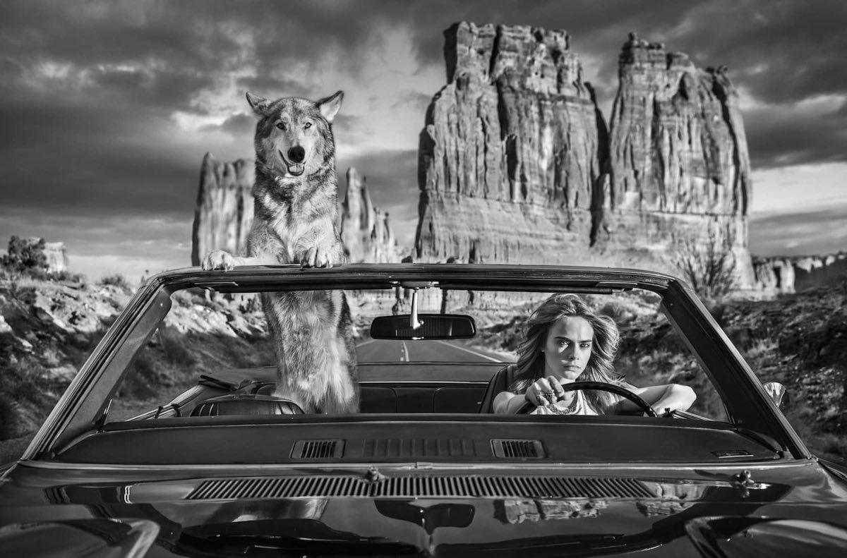 Drive: Cara Delevigne shot in Arches National Park, Utah - 2021