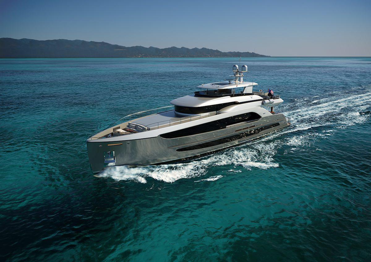 Burger 120 Raised Pilothouse Motor Yacht