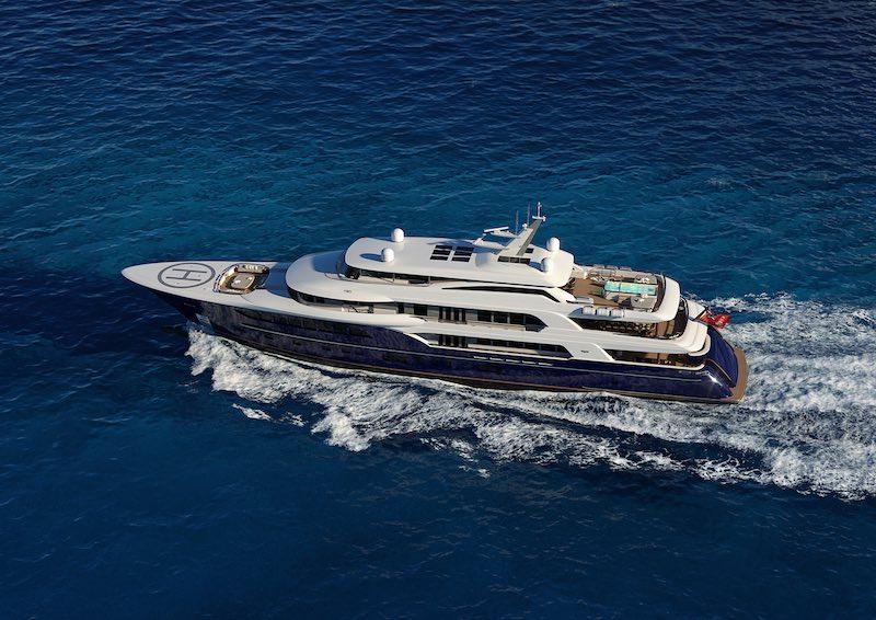 Burger 214 Tri-Deck Motor Yacht